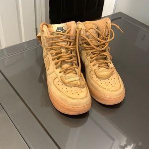 Nike Air Force 1 wheat 3.5